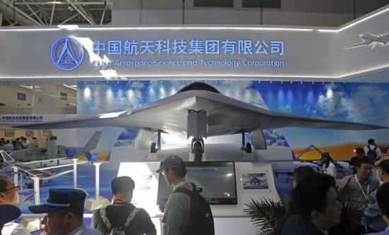 美媒评中国彩虹7隐身无人机 填补美国产品的空缺