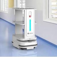 检验科智慧物流解决方案 钛米医疗服务机器人