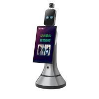 猎户星空豹大屏|服务机器人|红外测温机器人