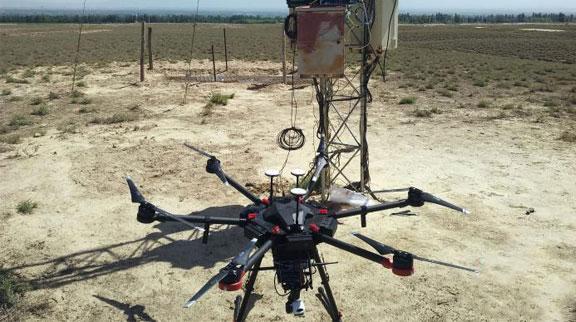 中科院研发无人机物联网中继系统 实现偏远地区实时数据采集