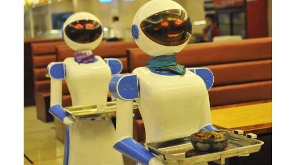 中国餐饮机器人再添新技能