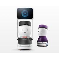 花生引领广告机器人 擎朗机器人 全自主商用服务机器人