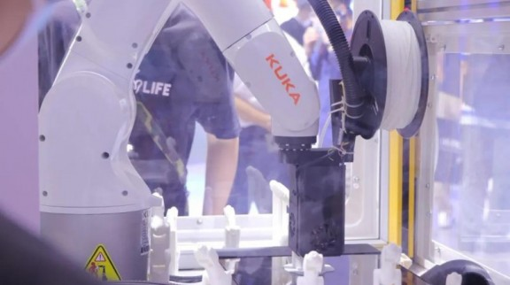 INTAMSYS携手KUKA推出3D打印创新解决方案