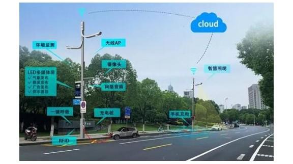 运营商争相布局智慧灯杆 开启智慧城市新入口