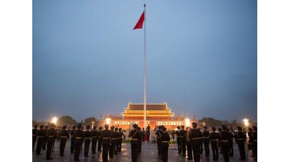 天安门广场国庆升旗首次5G全球直播,超2300万用户观看