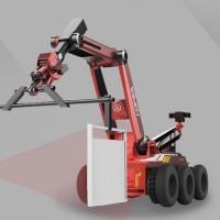 安泽智能机器人 智能排爆机器人 智能X射线排爆侦测机器人