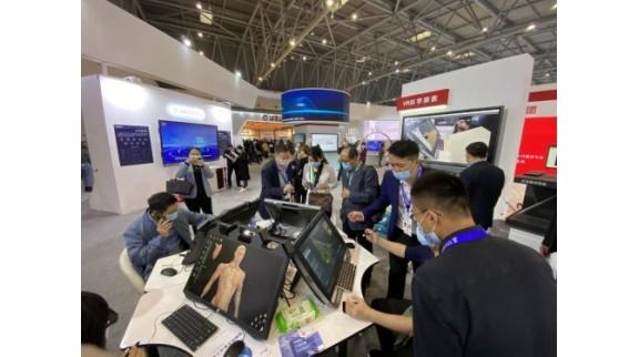 智慧教育成果亮相第78届中国教育装备展