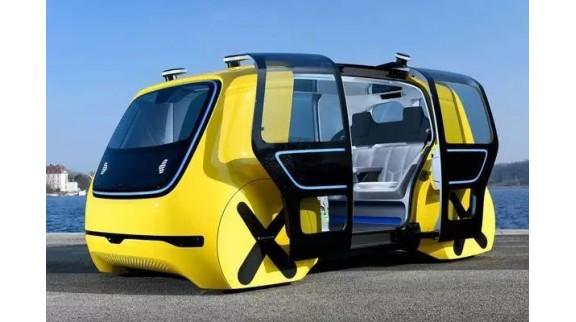 无人车打造智慧城市全新生活方式