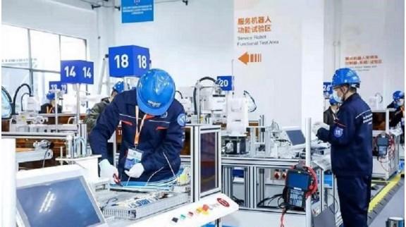 工业机器人技能大赛开锣,中国机器人1/3产量在上海