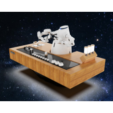 猎户星空咖啡机器人智咖大师