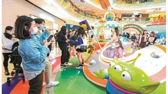 广州多家百货商场拥抱新零售 打造多元化消费场景