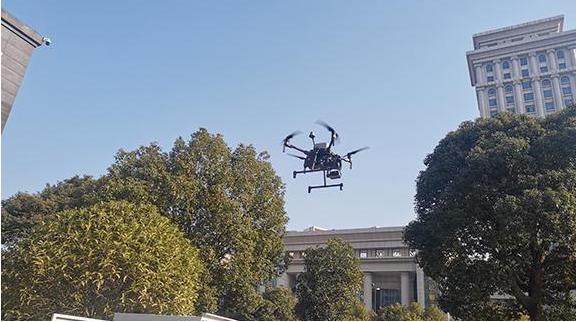 无人机成南昌治安防控强大利器