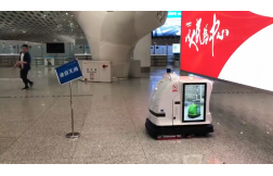 室内外清洁机器人避障能力展示