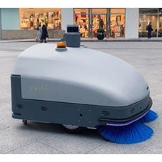 净豹星辰无人驾驶扫地机器人