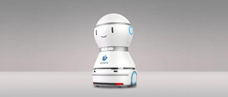 擎朗服务机器人
