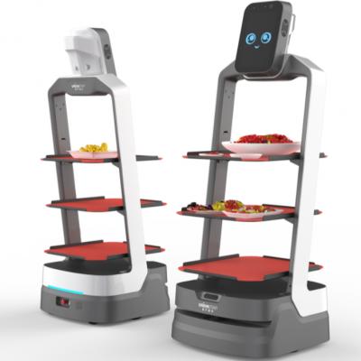 猎户星空送餐机器人招财豹