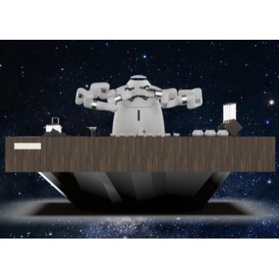 猎户星空六轴咖啡机器人