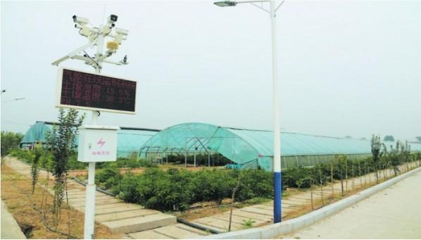 """高新区吕陵镇联新行政村:""""智慧农业"""":让小村庄有了新模样"""