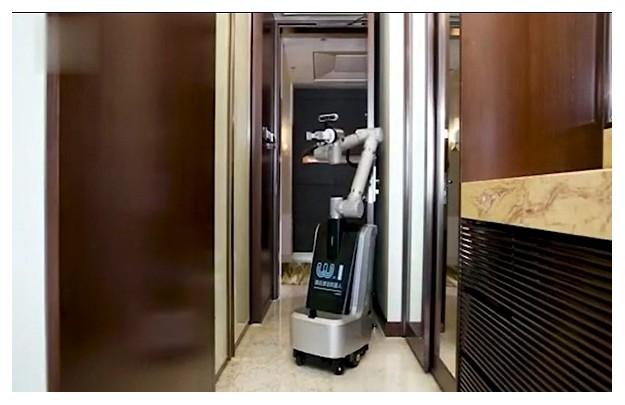 首款酒店客房清洁机器人上线!