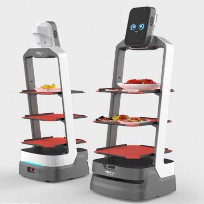 猎户星空 招财豹 酒店餐厅配送机器人 物流机器人
