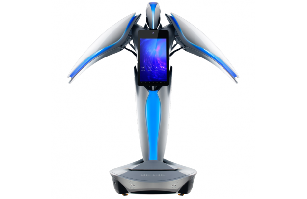 视频 大屏移动机器人 展厅机器人宣传片